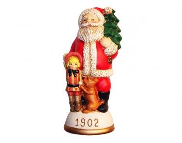 Santa, Buster Brown and Tige Circa 1902 Memories of Santa Collection Ornament NIB