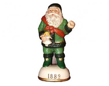 St. Nicholas with Doll Circa 1889 Memories of Santa Collection Ornament NIB