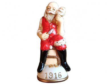 The image of Santa Circa 1916 Memories of Santa Collection Ornament NIB