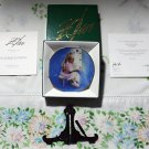 A Child's Faith by Donald Zolan 3 1/2 in. Collectors Plate New Mint COA & Stand