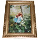 Enchanted Forest by Donald Zolan Framed Miniature Lithograph 7 x 9 COA Litho