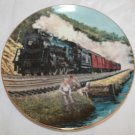 "Homeward Bound by Jim Deneen 9 1/4"""" Collectible Plate Original Box w/COA"