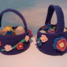 Purple Easter Baskets
