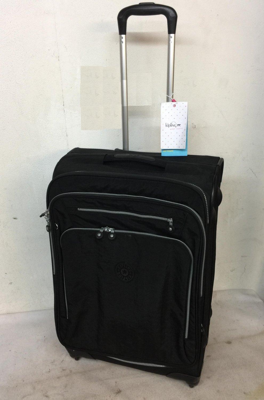 Kipling Youri Spin 68 4 Wheeled Trolley Suitcase - Black