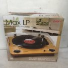 Ion Max LP USB Turntable Record Digital Conversion with Built-in Speakers(Ex-display)