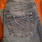 Silver Jeans AIKO Size 29 x 33 Bootcut Flare Medium Wash 1% Spandex