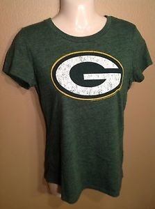OLD NAVY WOMEN'S SMALL GREEN BAY PACKERS WISCONSIN TEAM DISTRESSED T-SHIRT NFL