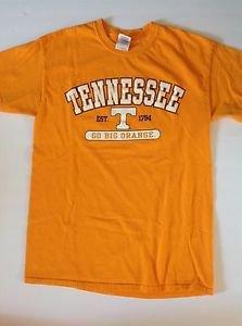 University of Tennessee Volunteers Vols Go Big Orange Mens M Cotton T-Shirt