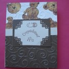 Baby Congratulations Card Made With Cuttlebug