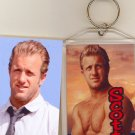 SCOTT CAAN JUMBO KEYCHAIN  HAWAII FIVE O STAR
