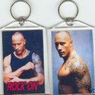 "DWAYNE JOHNSON ""THE ROCK"" JUMBO KEYCHAIN"