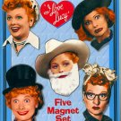 I LOVE LUCY COLLECTIBLE MAGNET SET...ATTA BOY BRAND