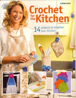 Crochet for the Kitchen CROCHET PATTERN BOOK...NEW
