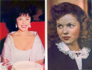 SHIRLEY TEMPLE VINTAGE COLOR POSTCARD SET  Ships FREE