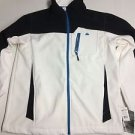 SNOZU - Platinum Collection Performance Jacket WHITE/BLUE SIZE L - Style OMS061H