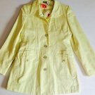 i.e. LEMON YELLOW FULLY LINED SPRING/SUMMER PANT COAT SZ Small $110