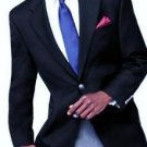 MICHAEL Michael Kors 2722 Mens Navy Wool Modern Sportcoat Blazer 42R NWT $295