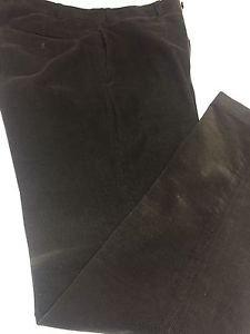Lauren RALPH LAUREN POLO FLAT FRONT Brown Corduroy Pants 36X34