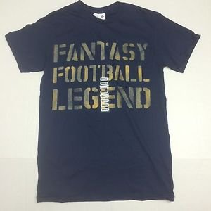 Graphic Tee Shirt - Fantasy Football Legend NWT Small