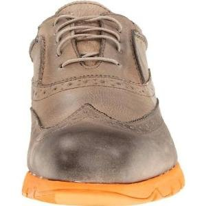 Hush Puppies 6732 Mens Taupe Leather Brogue Oxfords Shoes 10.5 Medium (D) NWB