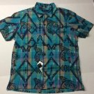 Polo Ralph Lauren - Printed Plaid Cotton Camp Shirt $98 NWT  Large
