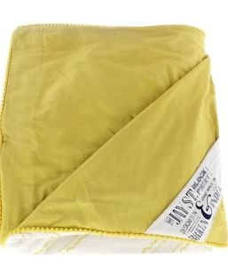 The Jay St. Block Print Company 6032 Evans Yellow 3PC Duvet Cover Set King