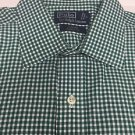 Polo Ralph Lauren - Green Plaid  Curham Classic Fit Shirt - Large