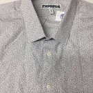 Express - Mens Button Down SHIRT L/Sleeve - Cotton XSF - XL NWT
