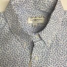Club Room - Solid Mens Size Large Button-Front Shirt - Blue $49 NWT