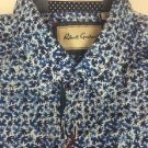 Robert Graham - Men's Waterman Medium Shirt Woven Blue Limited TAILORED NWT $198