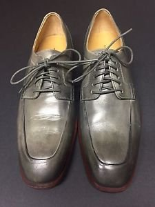 Cole Haan - Men's Oxford Gray  Dress Shoes Tumbled Leather Size 9 $210 MSRP NWOB