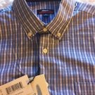 Johnnie-O (Serrano) Blue Button-Down Shirt JMWL1880 495 Size Medium NWT $125