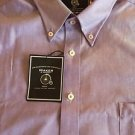 MAKER & COMPANY - Purple  Dress Shirt 3XB Big/Tall Button Down L/S