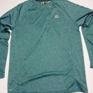 RBX Men's Performance Active Athletic Workout Shirt SIZE Med- Blue NWT Green