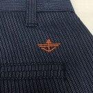 Dockers - Modern-Fit Slim Tapered Pants Blue Striped NWT 30x32