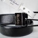 ROBERT GRAHAM - MENS Black/Brown GARRISON Reversible PAISLEY Belt 42 $128 NWT