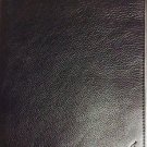 Ralph Lauren Black Pebbled Leather Ipad Electronic Accessory Cover $98 NEW