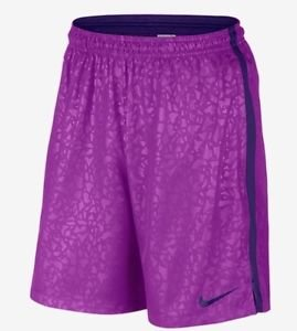 NIKE - Men's STRIKE GRAPHIC LONG WOVEN Soccer SHORTS  SMall NWT