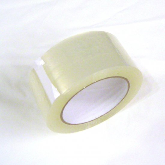 "12 Rolls Clear Packing Tape - 2"" x 110 yd 1.8mil"
