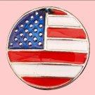 Metal Painted USA Flag