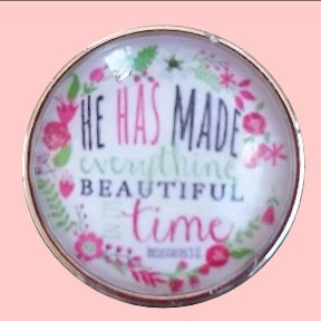 """He has made everything Beautiful"""