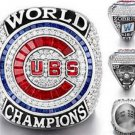 Chicago Cubs 2016 Championship Ring..Replica Solid Copper In Wooden Box