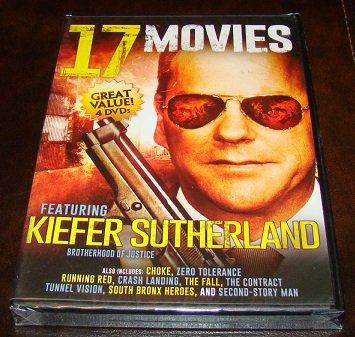 17 Movies (Action/Thriller) On 4 DVD Discs (New Unopened)