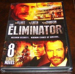 The Eliminator Plus 8 Bonus Action DVD Movies (New Unopened)