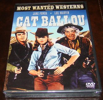 Cat Ballou 1965 Classic Western On DVD (New Unopened)