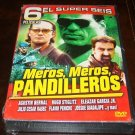 6 Peliculas Action Spanish DVD Movies (New Unopened)