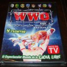 WWO Vol. 1 4 Eventos Spanish Luchador Wrestling DVD (New Unopened)