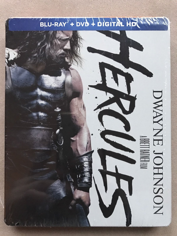 Hercules 2014 Blu-Ray + DVD + Digital Movie Collector's Tin (New Unopened)