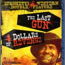 Spaghetti Western Double Feature Blu-Ray Movies (New Unopened)