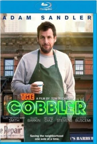 The Cobbler 2015 Drama Blu-Ray Movie Adam Sandler Stars (New Unopened)